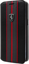 Book Case, Ferrari URBAN Collection for Samsung S8, PU leather, Black. Luxmart.ca