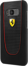 Hard-case, Ferrari Pit Stop for Samsung S8, Carbon Fiber, Black.