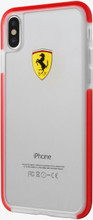 Ferrari, Case for iPhone 8 ( new iPhone 2017) , SHOCKPROOF, Transparent - Red