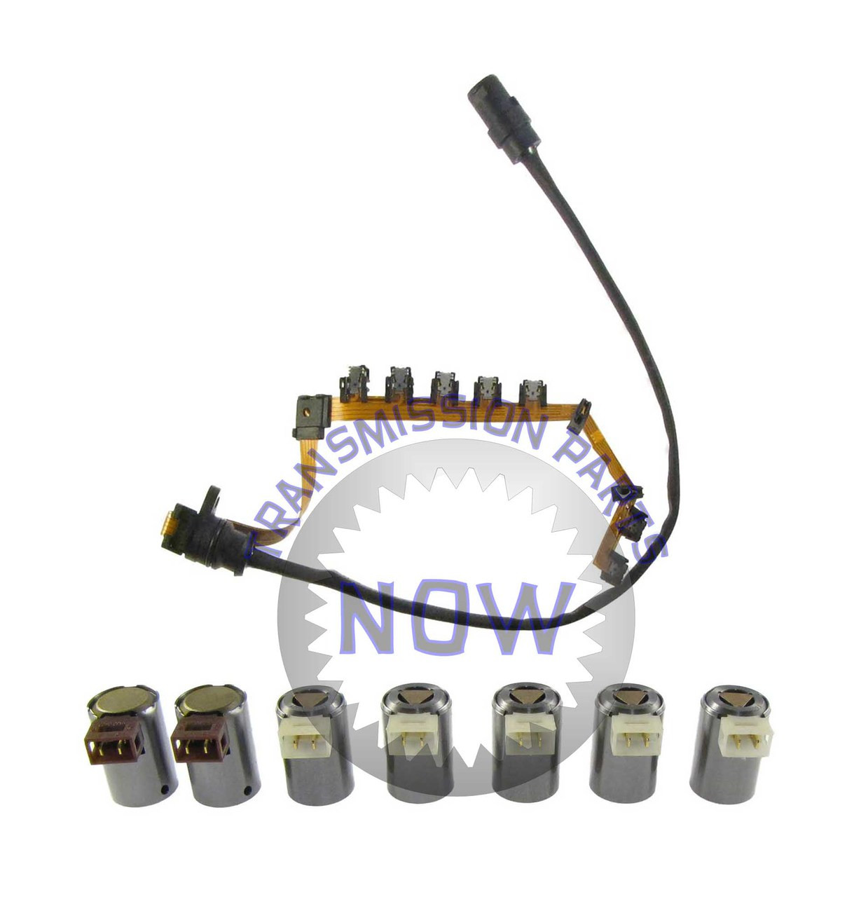 oe type wiring harness and 7 piece solenoid set transmission parts now 4l80e internal wiring harness 5r55e transmission wiring harness #19