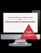 The Five Behaviors of a Team Facilitator Accreditation (Webinar)