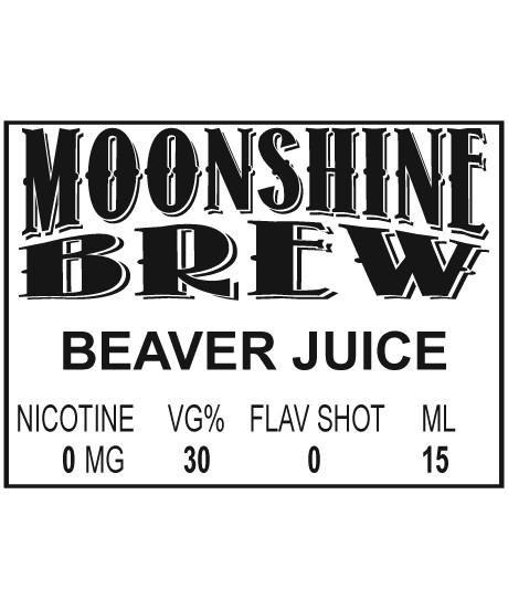 MOONSHINE BREW BEAVER JUICE - E-Juice - E-Liquid - Electronic Cigarettes - ECig - Vape - Vapor - Vaping - Pickering - Ajax - Whitby - Oshawa - Toronto - Ontario - Canada