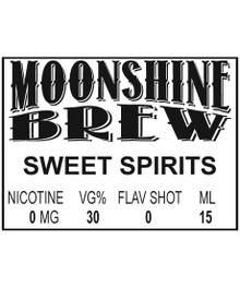 MOONSHINE BREW SWEET SPIRITS - E-Juice - E-Liquid - Electronic Cigarettes - ECig - Vape - Vapor - Vaping - Pickering - Ajax - Whitby - Oshawa - Toronto - Ontario - Canada