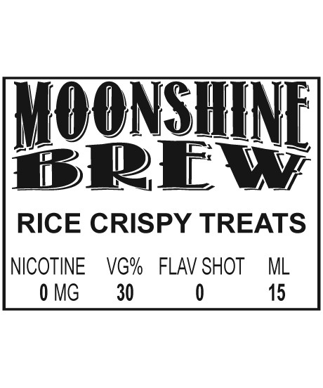 MOONSHINE BREW RICE CRISPY TREATS - E-Juice - E-Liquid - Electronic Cigarettes - ECig - Ejuice - Eliquid - Vape - Vapor - Vaping - Pickering - Ajax - Whitby - Oshawa - Toronto - Ontario - Canada