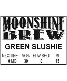 MOONSHINE BREW GREEN SLUSHIE - E-Juice - E-Liquid - Electronic Cigarettes - ECig - Ejuice - Eliquid - Vape - Vapor - Vaping - Pickering - Ajax - Whitby - Oshawa - Toronto - Ontario - Canada