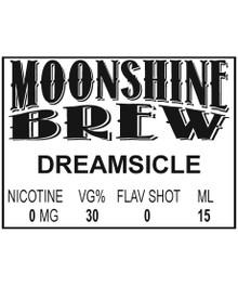 MOONSHINE BREW DREAMSICLE - E-Juice - E-Liquid - Electronic Cigarettes - ECig - Ejuice - Eliquid - Vape - Vapor - Vaping - Pickering - Ajax - Whitby - Oshawa - Toronto - Ontario - Canada