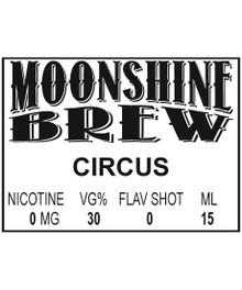 MOONSHINE BREW CIRCUS - E-Juice - E-Liquid - Electronic Cigarettes - ECig - Ejuice - Eliquid - Vape - Vapor - Vaping - Pickering - Ajax - Whitby - Oshawa - Toronto - Ontario – Canada