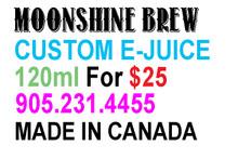 Electronic Cigarette - E-Cigarette - E-Juice - Vape - Moonshine Brew