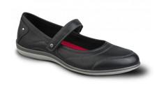 Revere Women's Adelaide Mary Jane Shoes - Black