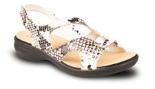 Revere Monaco Sandals White Snake
