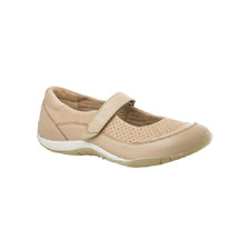 Orthaheel Women's Lia Mary Jane Beige