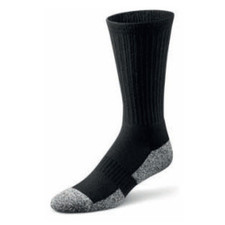 Dr Comfort Shape to Fit Crew Length Socks Black