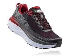 Hoka Mens Bondi 5 Black/Formula One