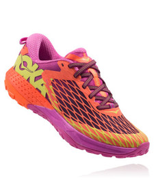 Hoka Women's Speed Instinct Neon Coral/ Plum