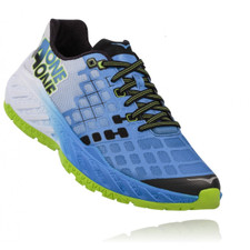 Hoka Men's Clayton Bright Green/ French Blue