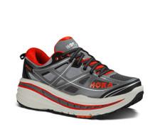 Hoka Men's Stinson 3 ATR Grey/ Orange Flash