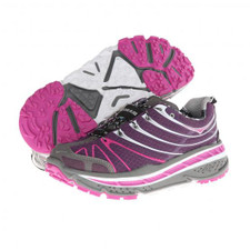 Hoka Women's Stinson Trail Plum/White/Fuschia
