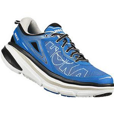 Hoka Men's Bondi 4 Directoire Blue/ White