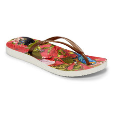 Vionic Women's Noosa Sandal Red Tropical Bronze