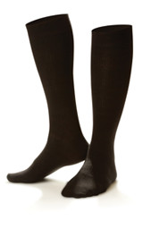 Dr. Comfort Women's Casual Trouser Sock Black