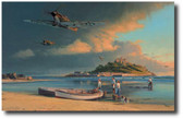 A Time for Heros  Aviation Art