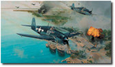 Hellcat Fury  Aviation Art