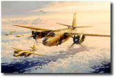 Marauder Mission  Aviation Art