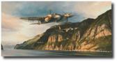 Dangerous Coast- Aviation Art