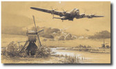 The Dambusters - Inbound to Target  Aviation Art