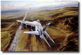 Airstrike  Aviation Art