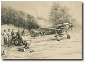 Breaking Cover   Aviation Art