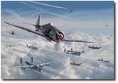 Bretschneider's End by Jim Laurier Aviation Art