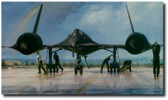 OUTRUN THE THUNDER By John Shaw Aviation Art