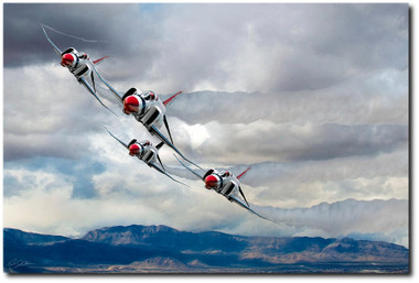 Diamonds Are Forever Aviation Art