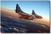 Black Sheep Skyhawk Aviation Art