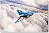 Forever Blue Aviation Art