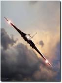 Sundown Approach Aviation Art