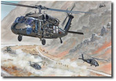 Spades Take the Jackpot by Joe Kline - UH-60M Blackhawk Aviation Art