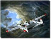 Lightning by  Don Feight - Lockheed P-38 Lightning Aviation Art