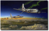 Meeting of the Strats by Don Feight - SAC Bomber Wing Aircraft Aviation Art