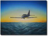 Definitely VFR by Don Feight - Glasair Aviation Art