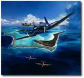 Bent Wing Sonata by Rick Herter Aviation Art