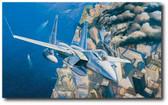 Ground Zero, Eagles on Station - 9-11-2001 by Rick Herter - McDonnell Douglas F-15 Eagle Aviation Art