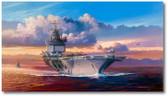Into the Wind, The Enterprise on Yankee Station by Rick Herter - F-4 Phantom, A-6 Intruder, A-4 Skyhawk