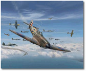 Geoff Wellum by Jim Laurier -  Heinkel He 111, Messerschmitt Bf 109