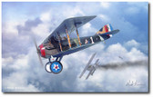 Winds of October by Mark Karvon- SPAD S.XIII Aviation Art