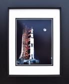 Apollo 17 with Moon