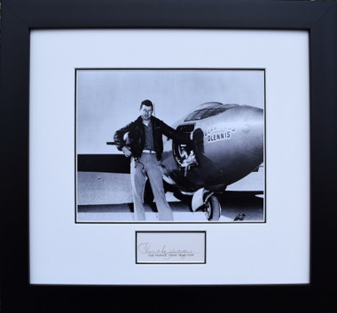 Chuck Yeager with the Bell X-1 (Signed by Chuck Yeager) Aviation Art