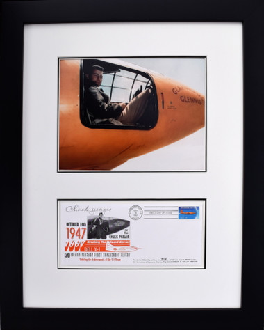 Chuck Yeager in the Bell X-1 w/ Envelope Aviation Art