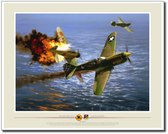 49th Fighter Group Action - Dogfight Over Oro Bay